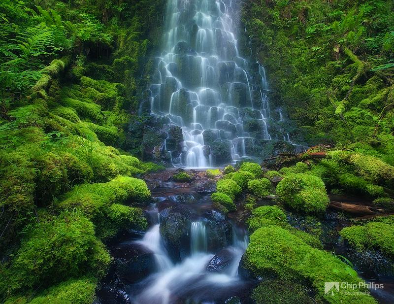"""Fairytail Falls, Columbia Gorge"""