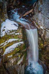 Christine Falls at Mt Rainier, Washington