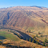 High above the Grande Ronde below Troy, OR on the Redmond Grade Road.
