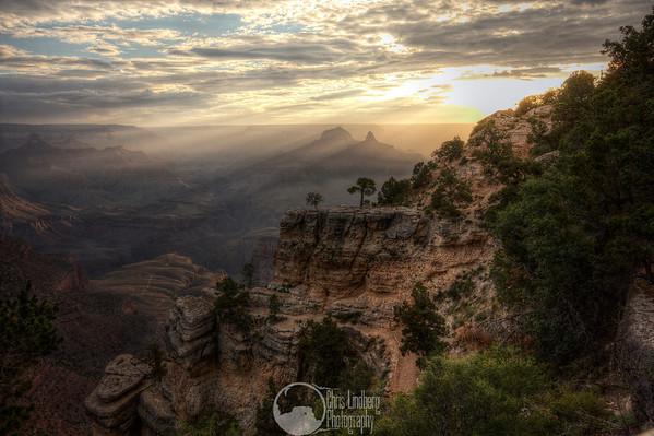 Dawn at Grand Canyon  HDR