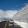 1245  G Snow Along Trail Ridge Road