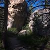 1828  G Rock Along Trail