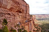 Hiking down into Monument Canyon; Colorado National Monument.