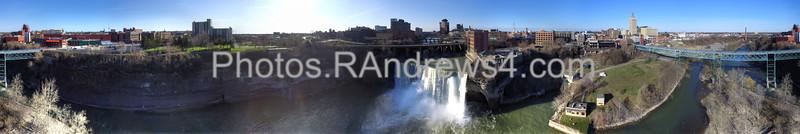 370 degree panorama at High Falls