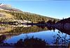 Early morning reflection at Rock Creek Lake, CA.