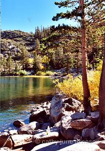 Mid Morning at Rock Creek Lake, CA.