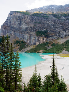 Lake Louise southwest shore