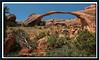 Landscape Arch, Arches Nationalpark Utah