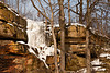 Frozen Waterfall, Iowa County, Wisconsin