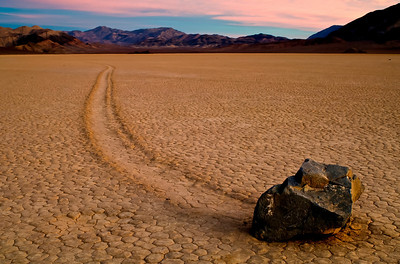 Rock at the Racetrack at Death Valley National Park