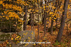 Rock Formations in Autumn, Sauk County, Wisconsin