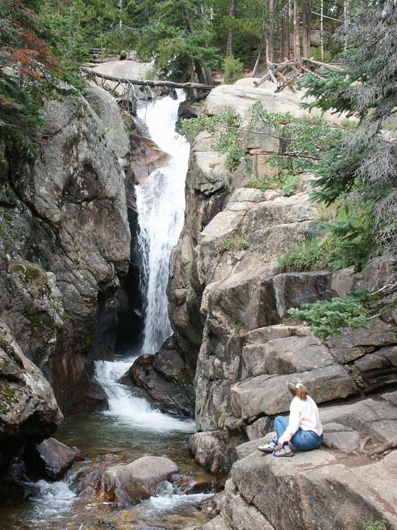 chasm falls & Peggy