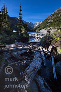Foot of Lake Mills, Rocky Mountain National Park