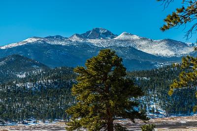 Late Winter by Long's Peak