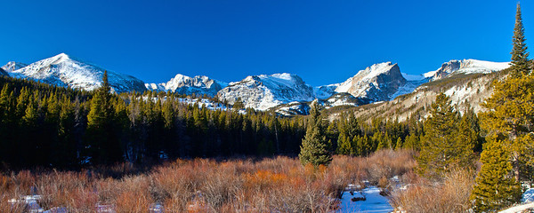 A Perfect Winter Day in Rocky Mountain National Park