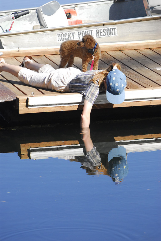 Fishing for a Reflection