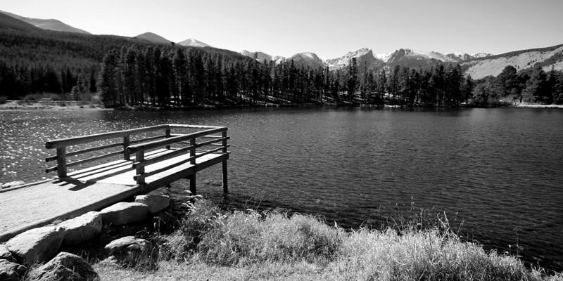 Bierstadt Lake Deck