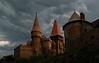Castelul Huniazilor inainte de furtuna