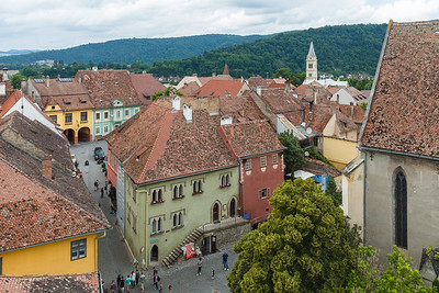 View over Sighisoara