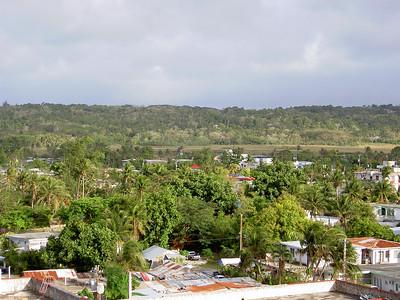 View from Aquarius Hotel, Saipan, CNMI