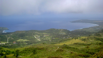 View from Tapochau, Saipan, CNMI