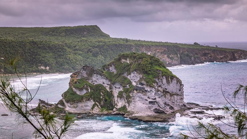 View from Bird Island overlook, Saipan, CNMI
