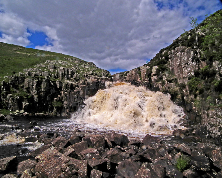 Cauldron Snout waterfall, Teesdale, Co. Durham