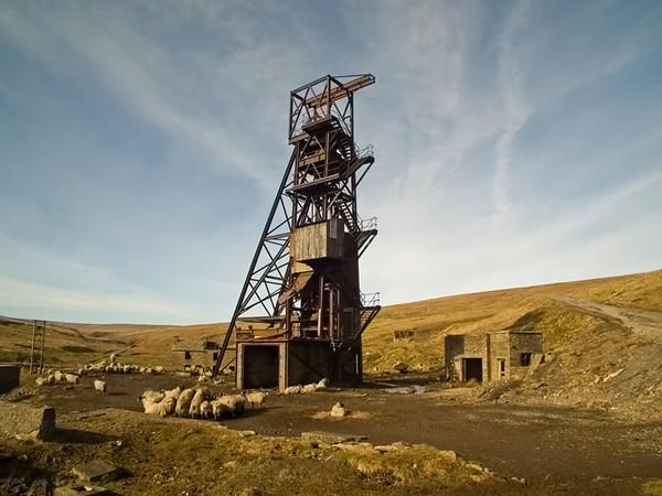 #Grove Rake Flourspar mine, Rookhope Co. Durham #As seen on the BBC Calender 2012