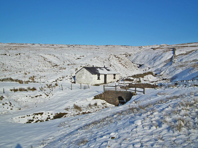 Upper Weardale between Middleton and Alston