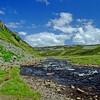 The valley beyond Cauldren Spout