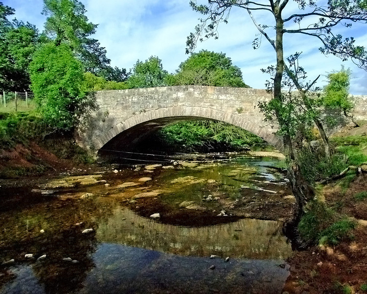 Brough Bridge on the A66
