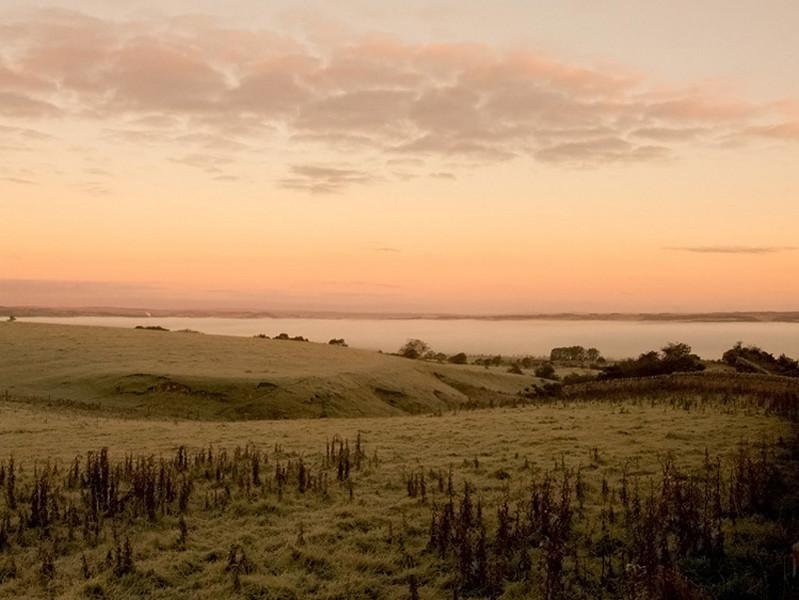 Sunrise over Bellingham in Northumberland