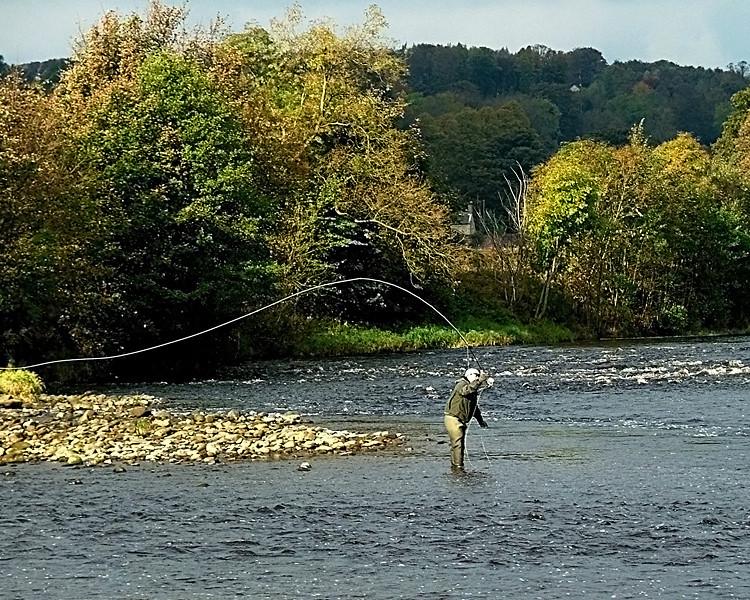Fishing on the Tyne