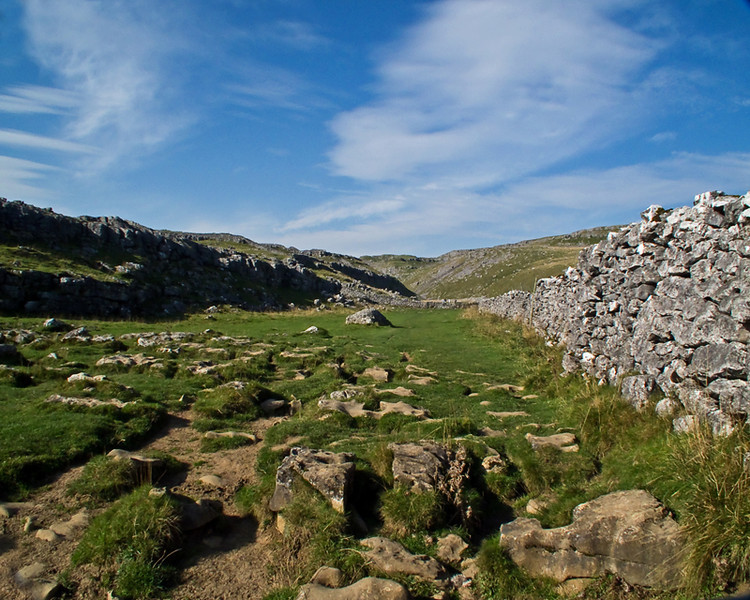 Malham Cove Limestone path