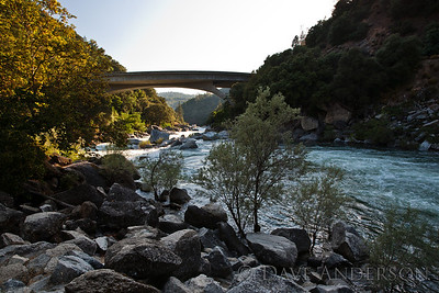 South Fork of Yuba River, at Highway 49, Nevada City, Ca.