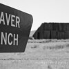 Defunct Traver Ranch, Carrizo Plain, California