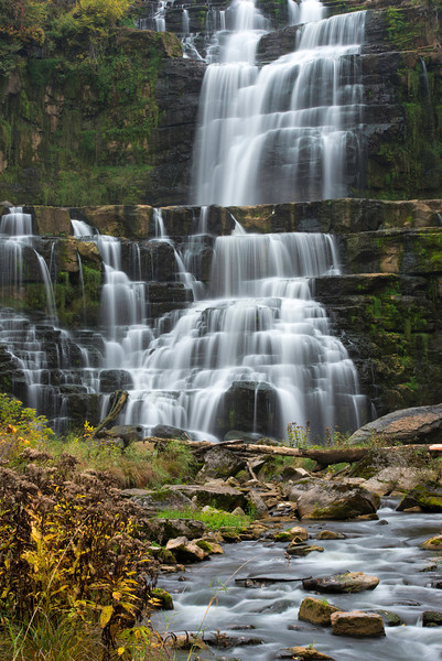 Chittenango Falls in central upstate New York