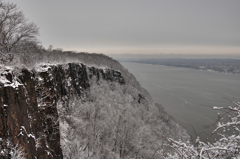 The Palisades.  Ten miles from New York City.