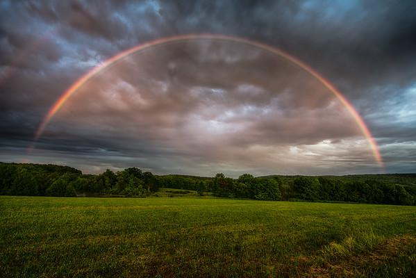 Rainbow over Columbus