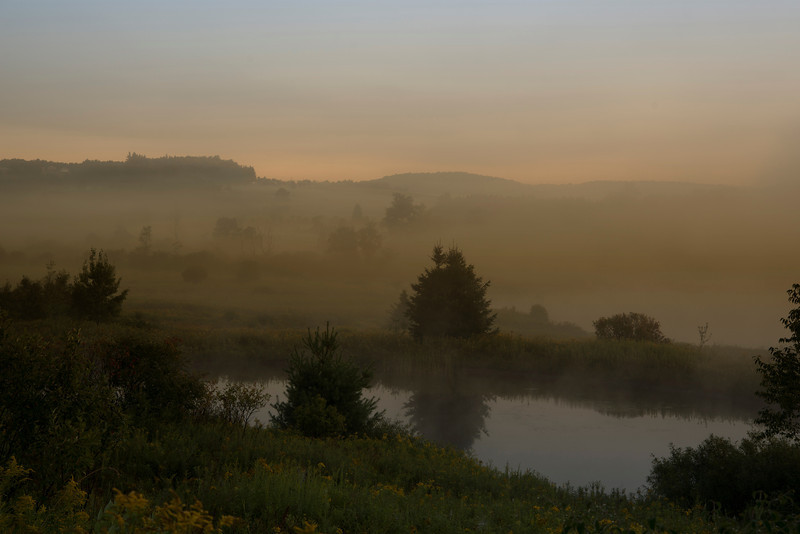 As we move towards the end of August into September the valley fogs in the Chenango County and Madison County area of New York State are amazing.
