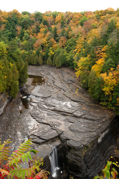 Trenton Falls area of West Canada Creek