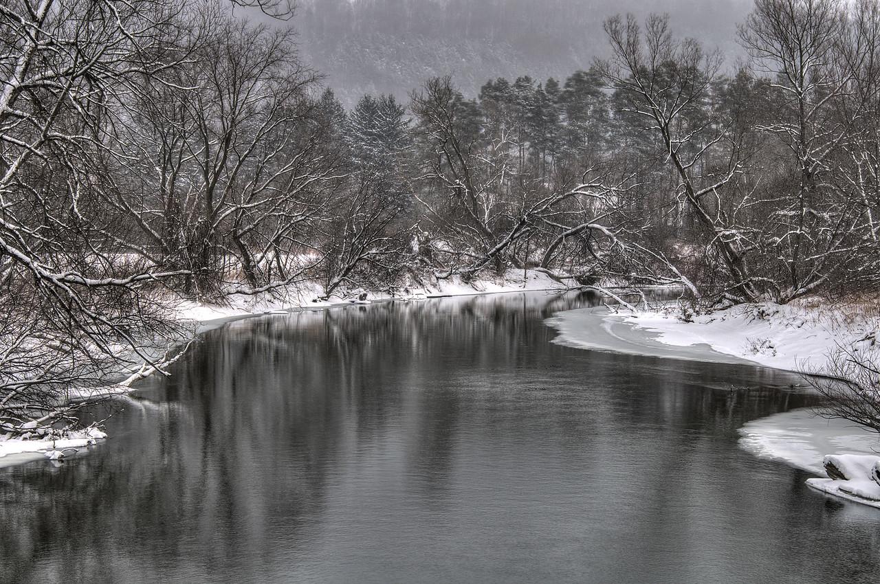 Chenango River just south of Sherburne, NY