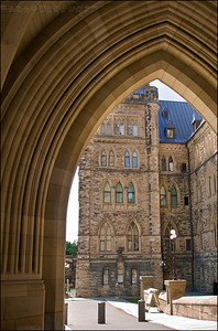 One of the Canadian Parliament Buildings, in Ottawa, Ontario Canada.