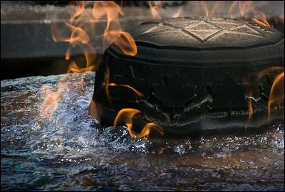 The Centennial Flame in Ottawa, Ontario, Canada