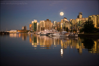 The Vancouver city skyline.