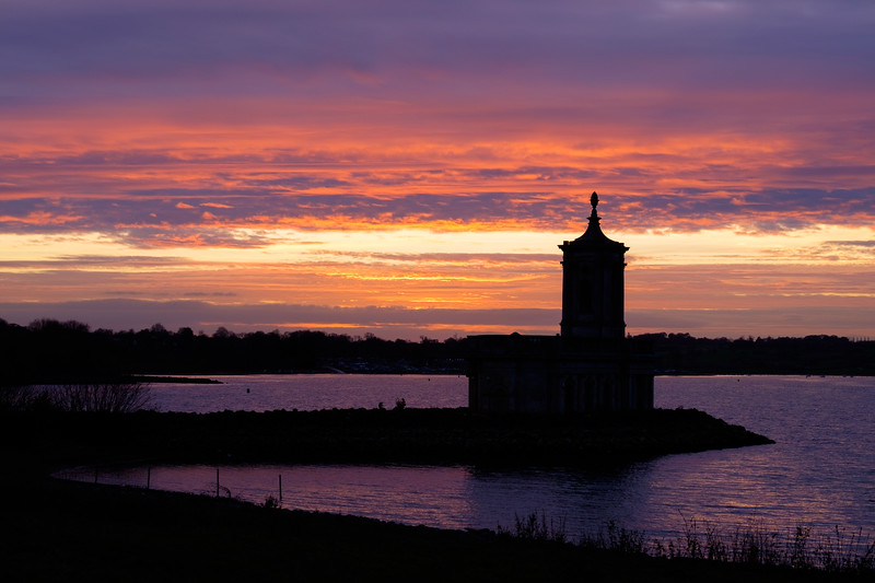 Rutland Water Sunset