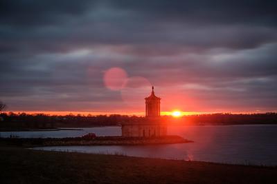 Rutland Water sunset