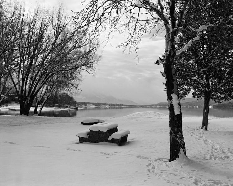 Fresh Snow at Kinsmen Beach