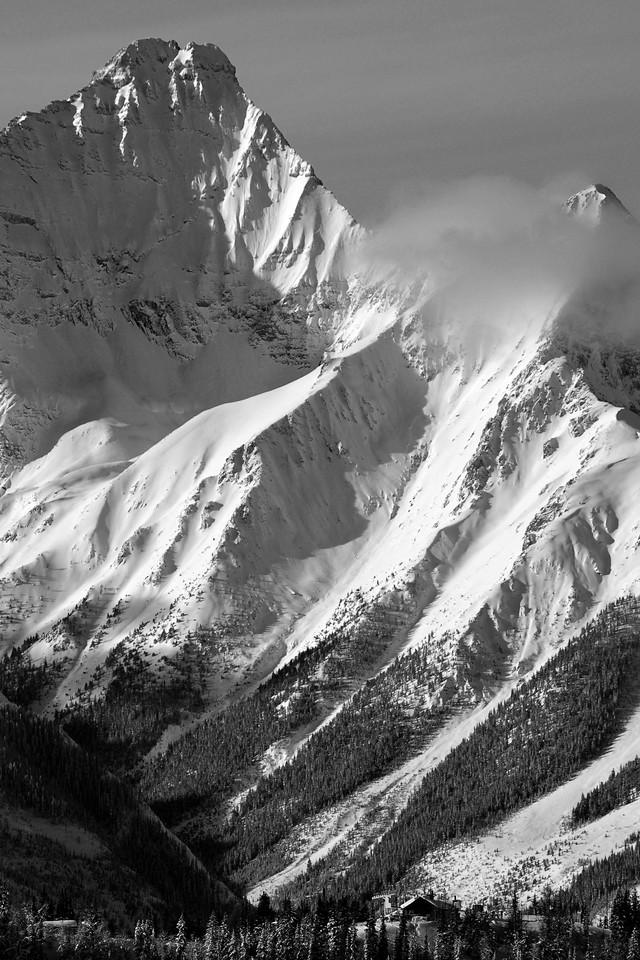 Mount Nelson and Summit Hut