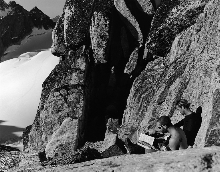 Lunchtime on Bugaboo Spire